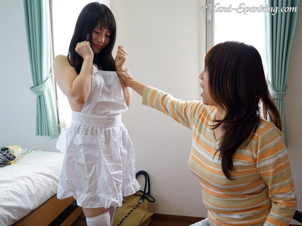 Harua Narimiya, hand spanking, girl-on-girl spanking, roleplay, spanking fetish, punishment, mother, daughter, teacher, student, teens, bare ass, discipline, control, BDSM, Japanese, girl-girl, all girl, movie, photos, スパンキング, お尻, お仕置き, お尻叩き, アダルト動画, 調教