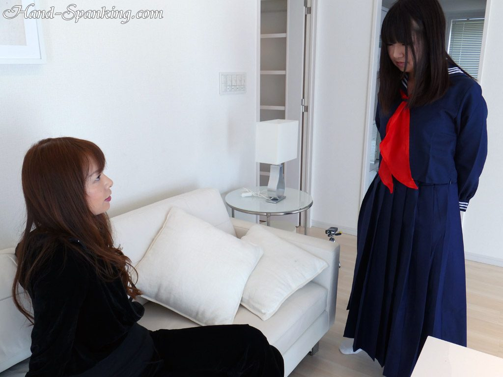 Arisa, Miharu, motorcycle, punishment, gang, hand spanking, girl-on-girl spanking, roleplay, spanking fetish, punishment, mother, daughter, teacher, student, teens, bare ass, discipline,   control, BDSM, Japanese, girl-girl, all girl, movie, photos, スパンキング,  お尻, お仕置き, お尻叩き, アダルト動画, 調教
