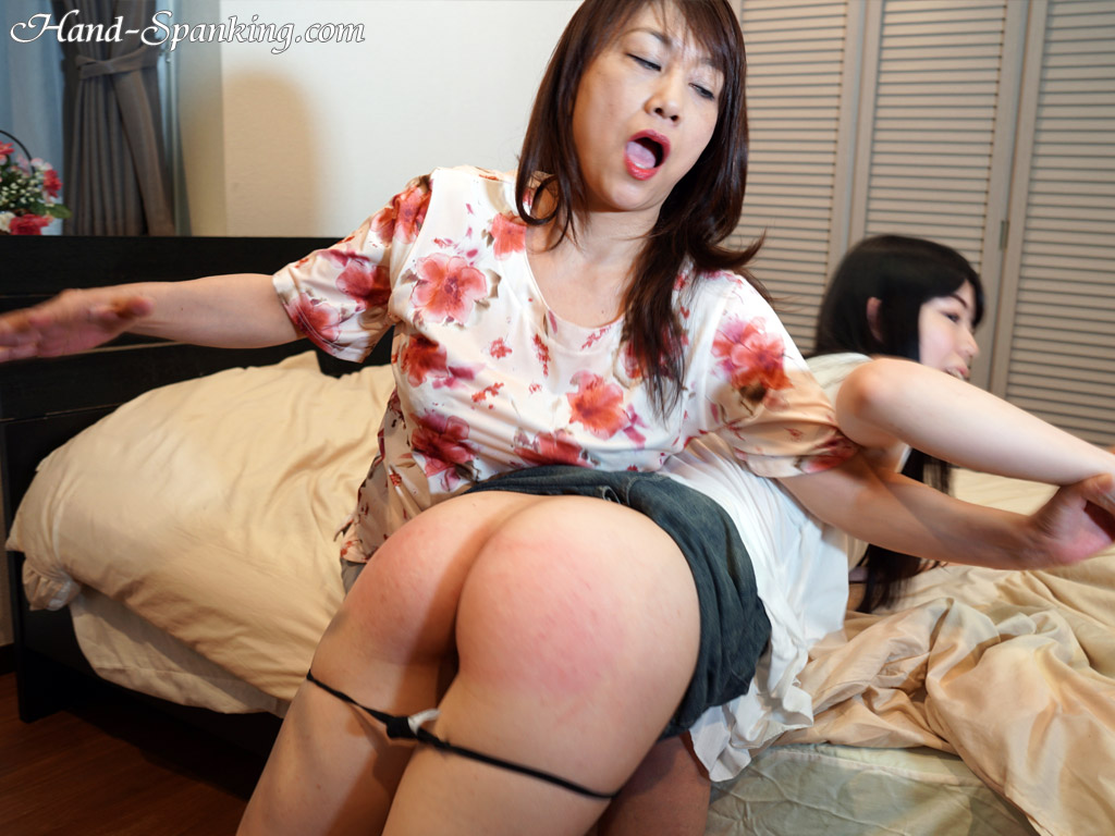 Like spanking mother japanese