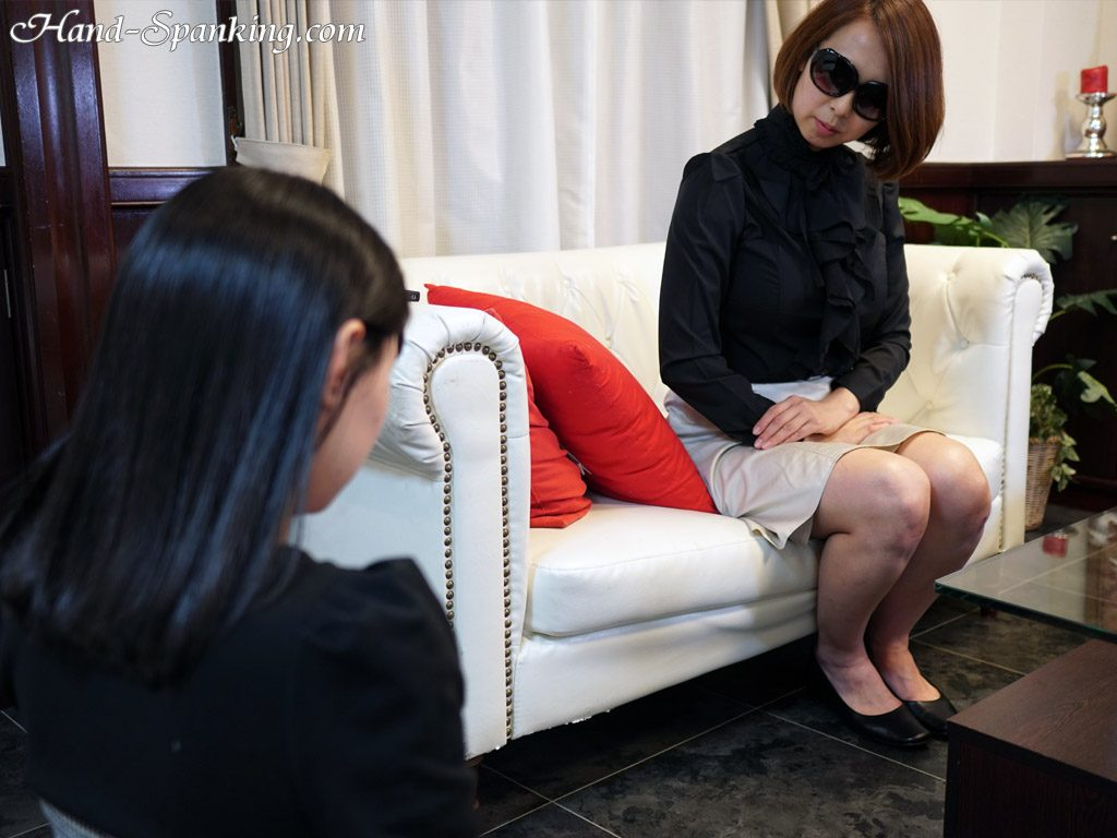 Erika, Suzu, punishment, teen, bodyguard, hand spanking, girl-on-girl spanking, roleplay, spanking fetish, punishment, mother, daughter, teacher, student, teens, bare ass, discipline, control, BDSM, Japanese, girl-girl, all girl, movie, photos, スパンキング, お尻, お仕置き, お尻叩き, アダルト動画, 調教