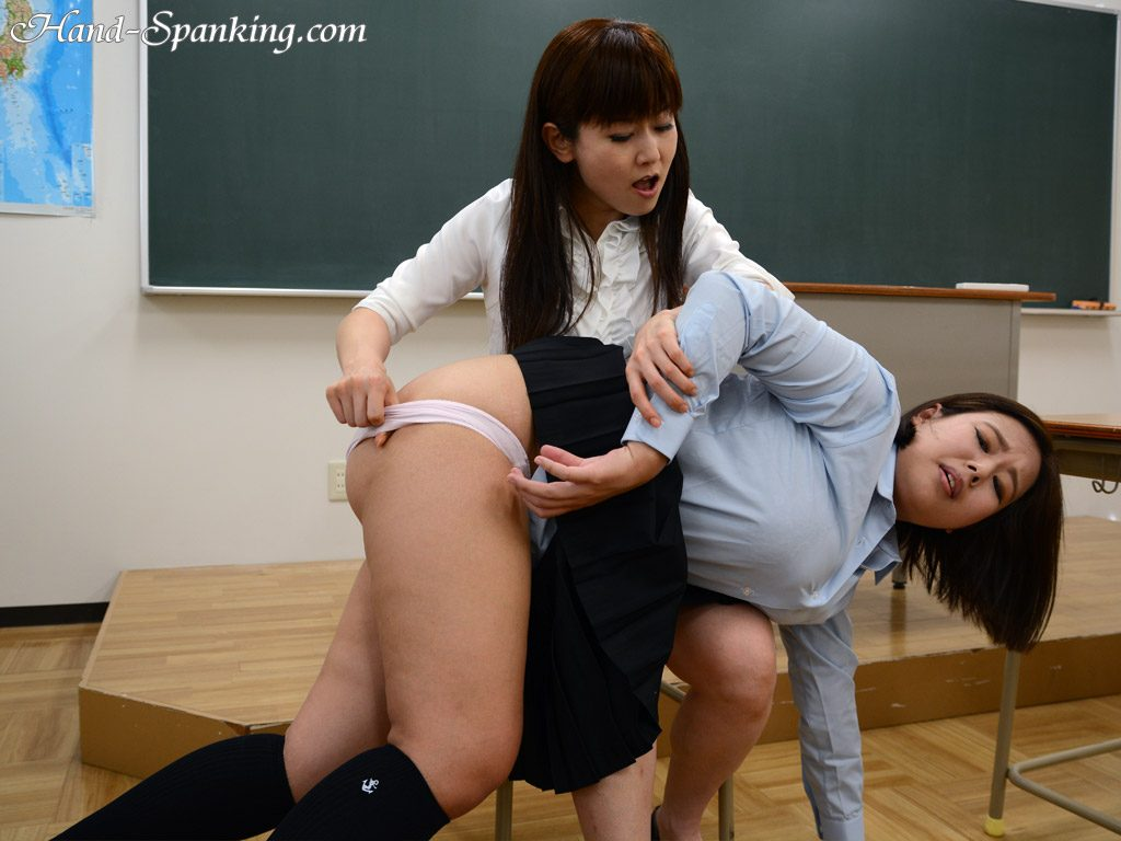 Rookie Teacher Caught Peeping and Spanked